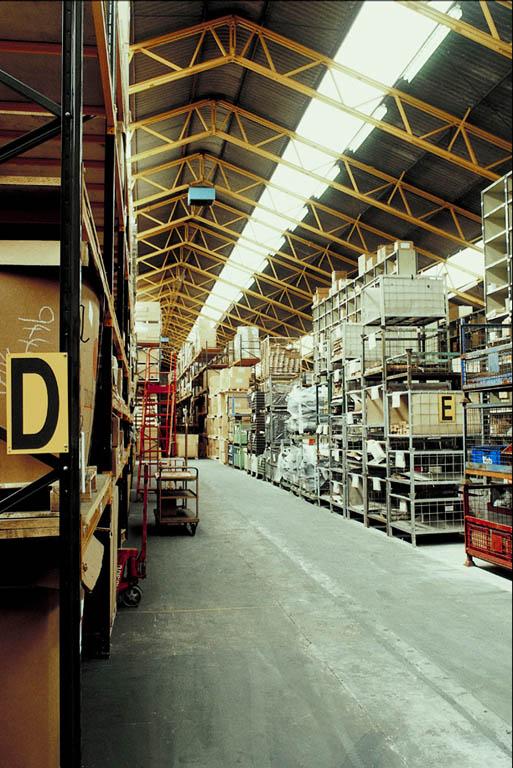Wholesale merchants keep the warehouses of retail merchants stocked.